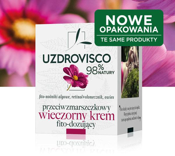Uzdrovisco fitodozujący wieczorny kremredukujący zmarszczki - 50 ml